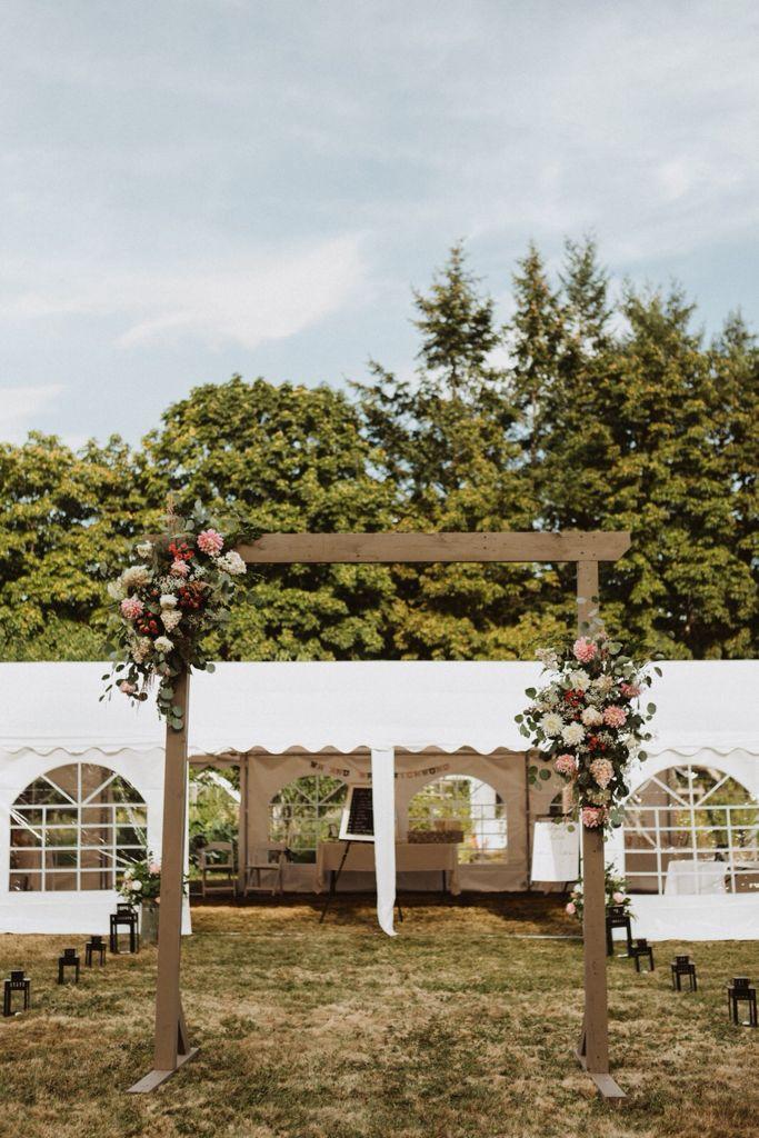 Victoria event rentals tents