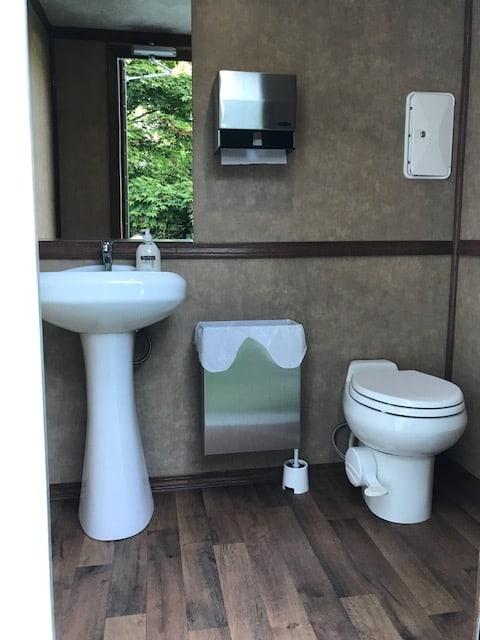 Event rentals restroom