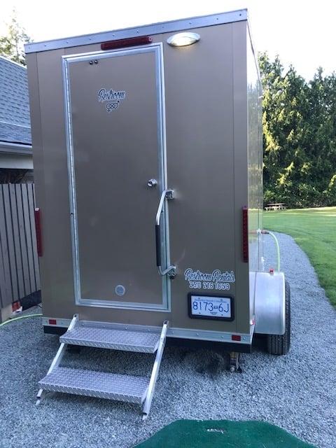 Restroom trailer rentals