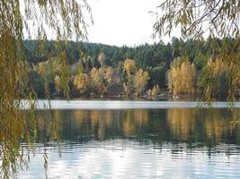 Elk Lake on the Saanich Peninsula, Vancouver Island