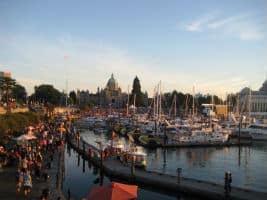 Downtown Victoria BC - the Inner Harbour